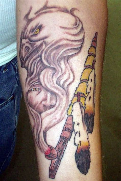 peace pipe tattoo american peace pipe tattoos pictures to pin on