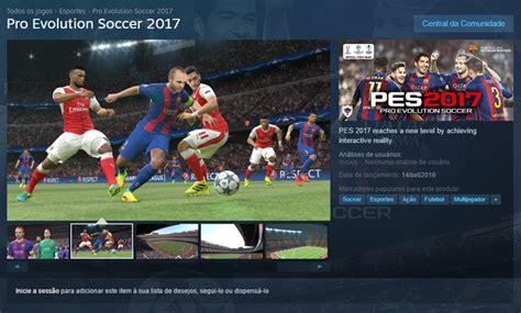 Pro Evolution Soccer 2017 Pes 2017 Original Steam Cd Key Only como fazer o de pes 2017 no pc ps4 ps3 xbox