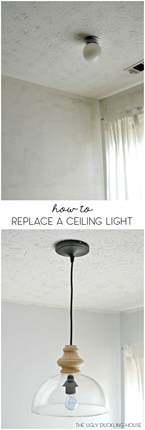 Change Ceiling Light Fixture How To Replace Overhead Light Fixtures With Ease