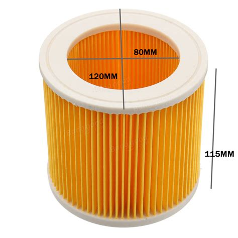 Karcher Wd3 200 Vacuum Cleaner vacuum cleaner cartridge filter replacement for