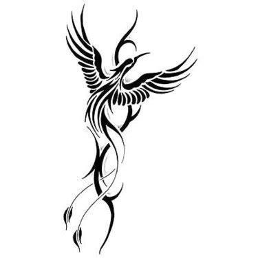 small phoenix tattoo designs bird meaning