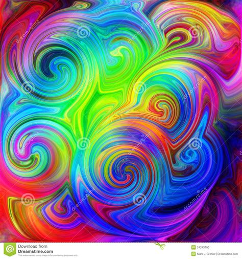 psychedelic pattern video psychedelic season stock photo image 34245790