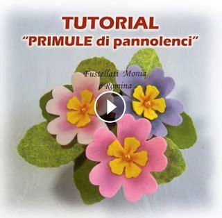 come fare i fiori di pannolenci tutorial fiori feltro pannolenci come fare primule