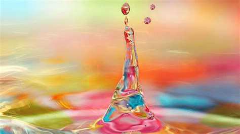 colorful water colorful water splash hd wallpaper wallpaper studio 10