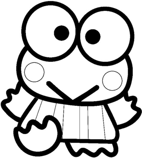 doodle keropi how to draw keroppi from hello with easy step by