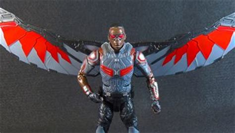 Hasbro Marvel Legends Civil War Series Falcon new poster for captain america 2 the winter soldier featuring falcon