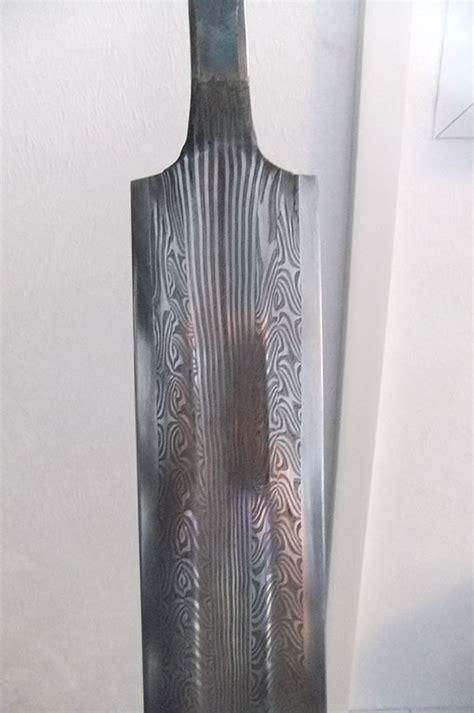 pattern welding bronze damascus stel pattern welded blade bronzeart ie