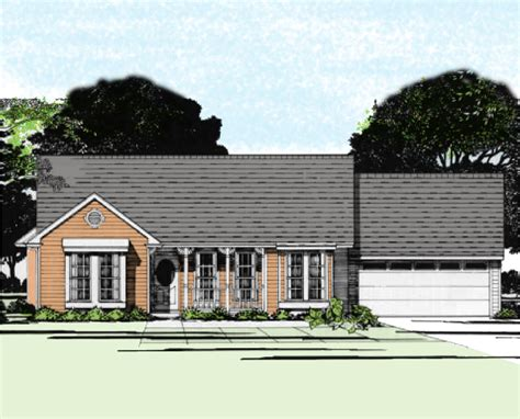 two bedroom ranch house plans two bedroom ranch house plan 31081d architectural