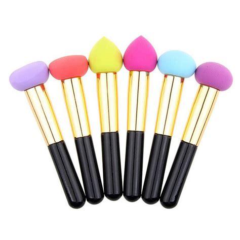 Sponge Brush cosmetic makeup brushes liquid foundation sponge