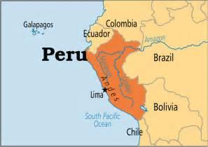 Peru World Map by Peru