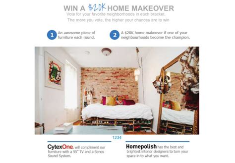 win a home makeover from nyfu worth 20k design milk