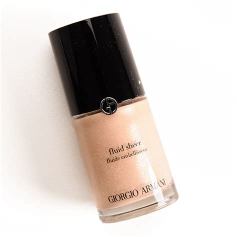 Harga Giorgio Armani Fluid Sheer giorgio armani no 02 fluid sheer review photos swatches