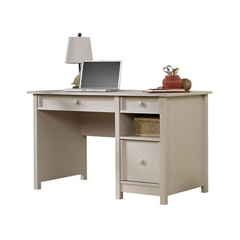 Office Depot Sauder Desk Sauder Cottage Desk Cobblestone Gray By Office Depot Officemax