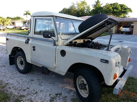 jeep defender for sale land rover series iii 4x4collector car antique truck jeep