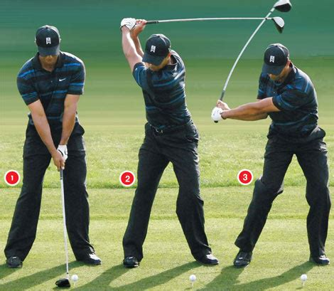 tiger woods swing from behind enlightening golf golf instruction and beyond hip sway