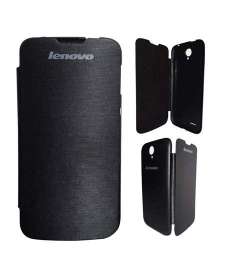 Lenovo A830 Flip Cover Hitam casecart premium flip book cover for lenovo a830
