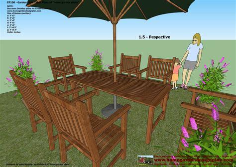 garden table woodworking plans  woodworking