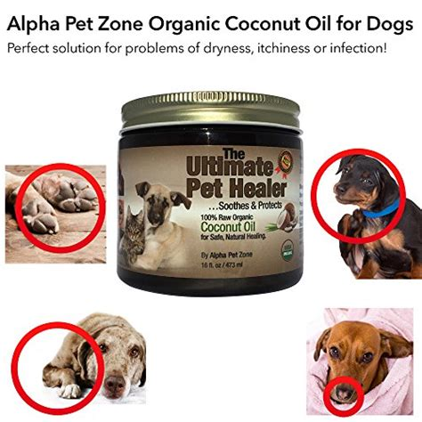 coconut for dogs skin alpha pet zone coconut for dogs treatment for itchy skin elbows paws and