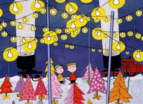 charlie brown christmas gifs spotlight