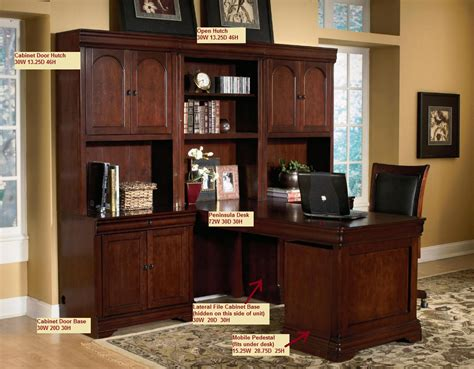 Desk Units For Home Office I Like This Hutch Without Space Wasted For A Desktop