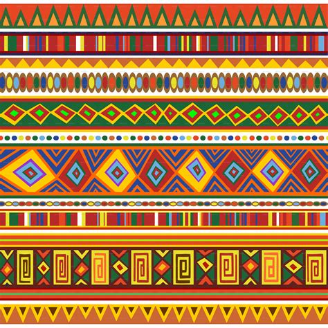 Ethnic Pattern Png | ethnic colorful pattern africa art by bluedarkat