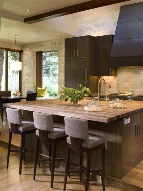layout of butchery kitchen kitchen island with sink and sitting design pictures