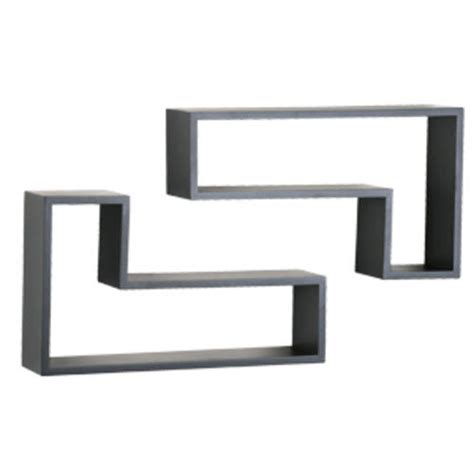 menards wall shelves black decorative l shape shelving pair at menards 174