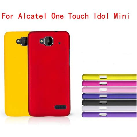 Hardcase Alcatel One Touch Flash High Quality Hardcase Free Sp high quality for alcatel one touch idol mini 6012x 6012a 6012w tcl s530t rubber cover