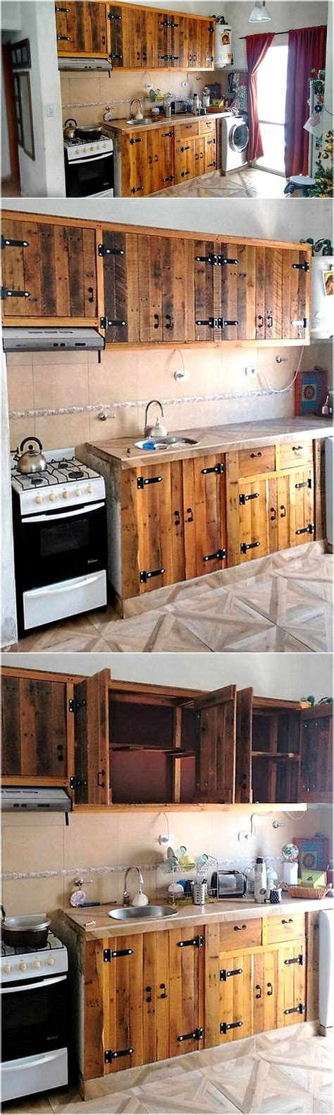 Made Kitchen Cabinets by Choose One Idea For Your Next Diy Pallet Projects Wood
