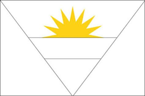 antigua  barbuda drapeau drapeau dantigua  barbuda