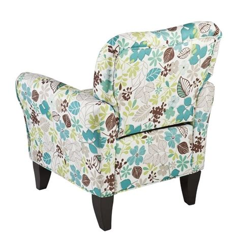 floral print accent chairs southern enterprises madigan accent arm chair in floral