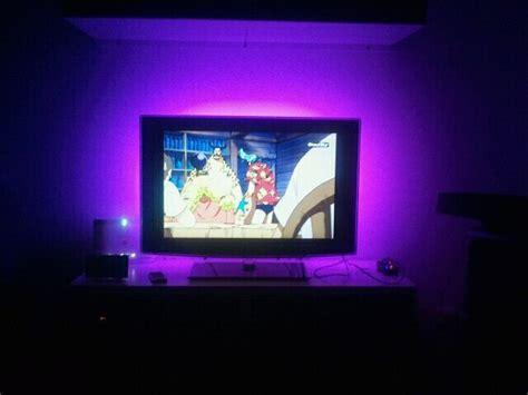 eclairage cadre tableau r 233 tro eclairage tv hexolight mise en lumiere