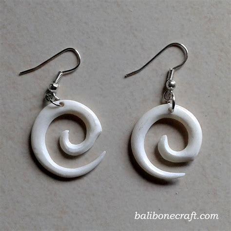 Anting Circle bone earring