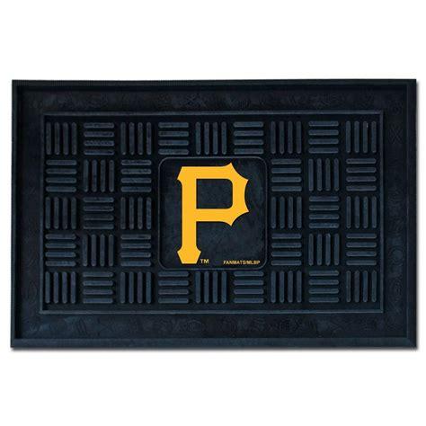 fanmats pittsburgh 18 in x 30 in door mat 11310