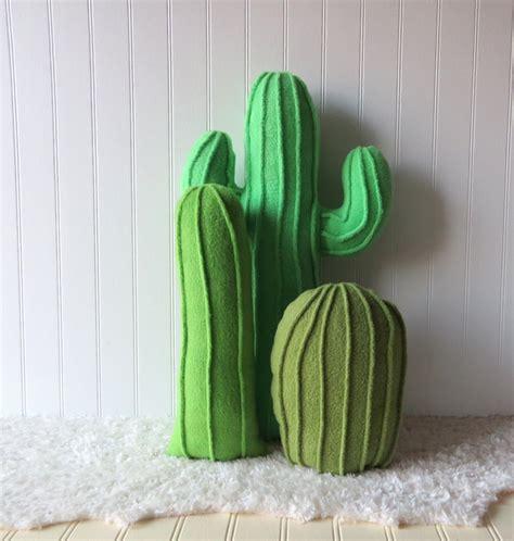 Cactus Pillow by Cactus Garden Cactus Pillows Pillow Collection Set Of 3