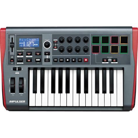 Novation Impulse 25 USB MIDI Keyboard IMPULSE 25 B&H Photo