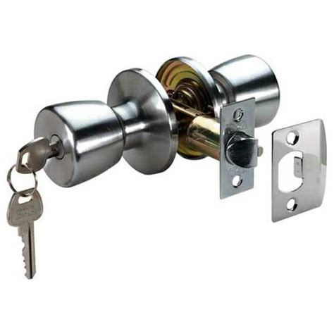 How To Open Locked Door Knob by Entrance Lock Door Knob Set With Latch Era