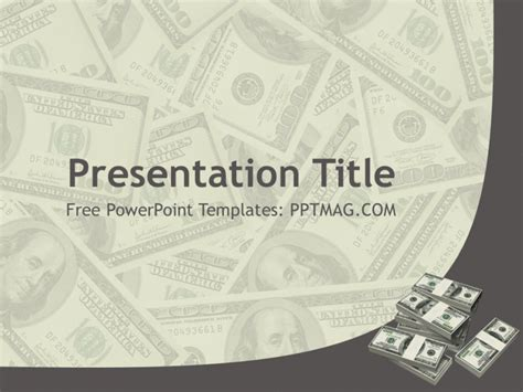 money powerpoint template free money powerpoint template pptmag