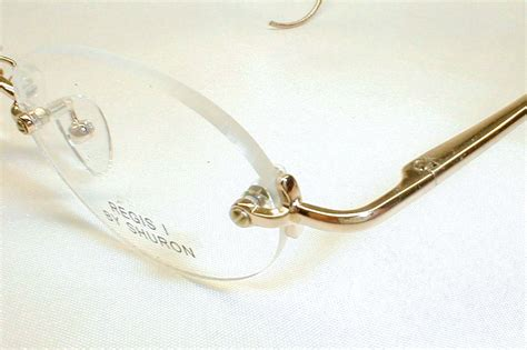 antique gold silver spectacles eyeglasses rimless