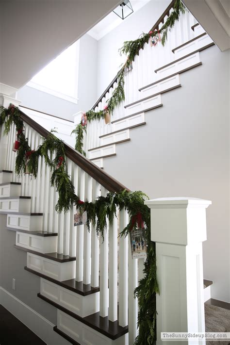 stair garland card stair garland the side up