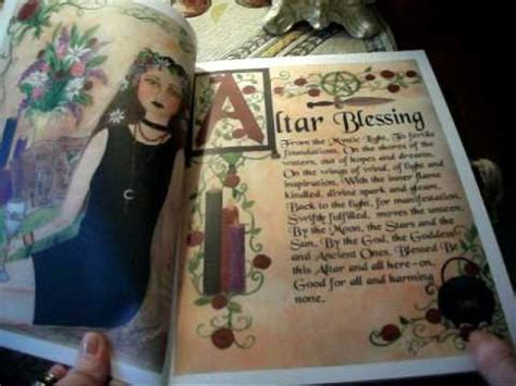 Reading Charmed by Book Of Shadows Diary Charmed Witch Wicca