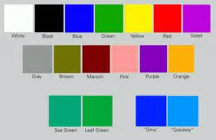 color names color richard nilsen