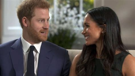 meghan markle and prince harry meghan markle and prince harry s first tv interview in