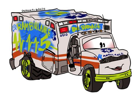 Car Doctor Atlanta 1 by Cars 3 Countdown Dr Damage By Autotooned On Deviantart