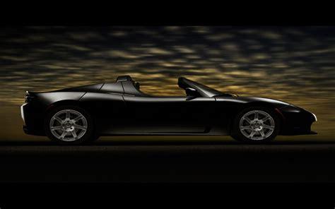Tesla Roadster Wallpaper Tesla Roadster Black Wallpaper Tesla Cars Wallpapers In