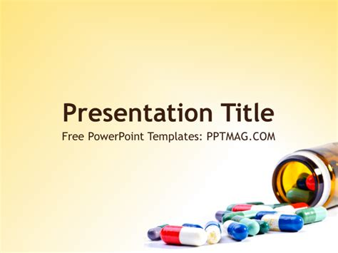 Free Pharmacy Powerpoint Template Pptmag Pharmaceutical Powerpoint Templates