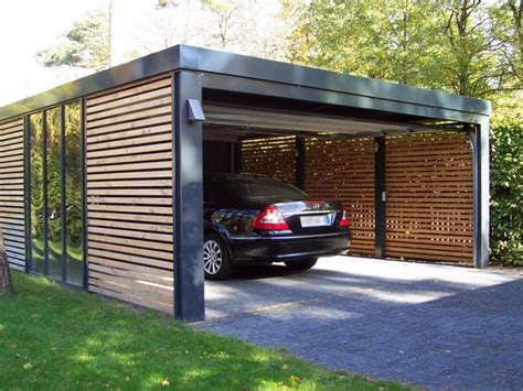 garage designer home design black minimalist design ideas carport with