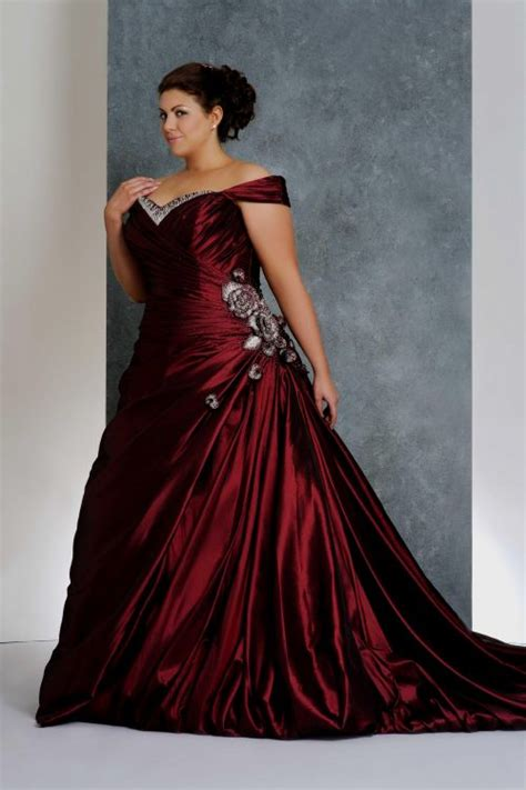 plus size colored plus size colored wedding dresses gown and dress gallery