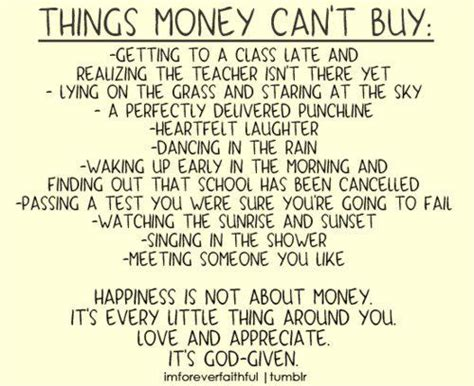 money can buy house but not home all things money can t buy wisdom quotes stories