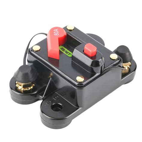 Sale 6a Circuit Breaker Push Button Protector car audio fuse holder with switch power supply protector circuit breaker fw ebay